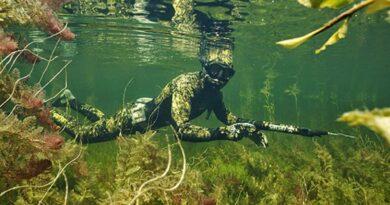 Подводная охота в Костроме